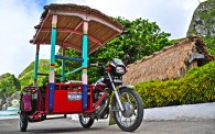 In Sabtang, this tricycle is King!